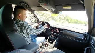 Škoda Kodiaq RS 2.0D, 240KM 7AT DSG TEST PL #2 Jeżdżący Marzeniami CZĘŚĆ 2