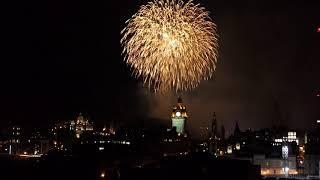 Edinburgh Festival Fireworks Finale 2019