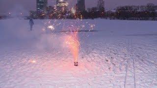 Безопасный праздник: екатеринбуржцам рассказывают, как правильно запускать фейерверки