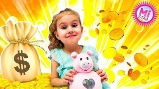 Обзор игрушки - Хлопушка Сюрприз, Кукла в Конфетти Пати Поп Тинис! Party Pop Teenies Милана Milana