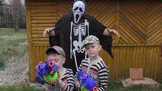 УЖАСТИК для детей. КРИК из фильма ужасов напал на детей!!!