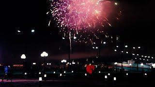 Праздник фонарей в Хэйхэ Салют 2019