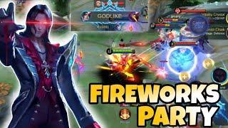 Cecilion Fireworks Party Montage | Mobile Legends Bang Bang