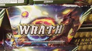 Fireworks Demo (500 Gram Cake) - Wrath (Firehawk)