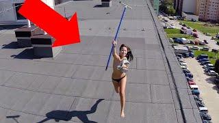 10 WEIRD THINGS CAUGHT ON CAMERA BY DRONES