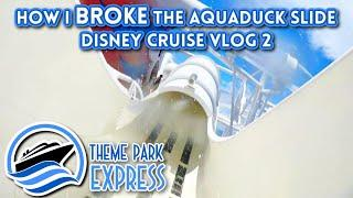 Day At Sea With Fireworks! NO MICKEY WAFFLES ON BOARD?! How The Pool Works! Disney Cruise Vlog 2