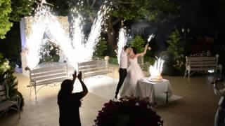Палас дель Мар. Свадебный торт. Холодный огонь