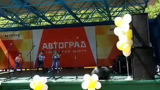 Выступление на День города Тольятти в Парке Победы