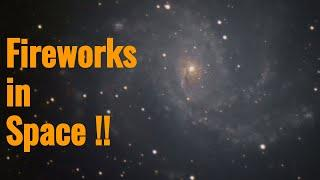 Fireworks in Space !!