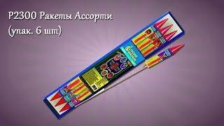 P2300 Ракеты Ассорти (упак. 6 шт)