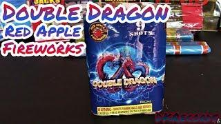 Red Apple Fireworks - Double Dragon