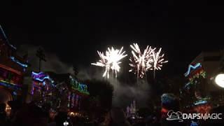 4K Believe In Holiday Magic Fireworks - Opening Weekend - Disneyland Resort 2018
