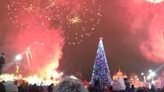 Тула Новогодняя столица, открытие ёлки, САЛЮТ!