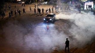 Cars Drifting and Illegal Fireworks Anaheim California