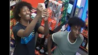 CAUGHT ON CAMERA: Fireworks assault at convenience store!