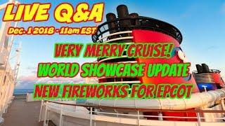 LIVE Q&A - Very Merry Cruise