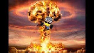 взрываю петарды в майнкрафте! о вреде петард! чють не погип