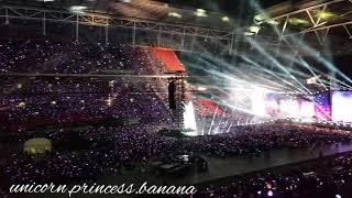 BTS Wembley Stadium London Day 2 ending & fireworks ^_^