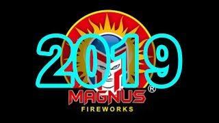 American Fireworks 2019 Demo: Part 3 - Magnus Fireworks (500 Gram Cakes)