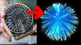 TOP 7 AWESOME HOMEMADE FIREWORKS !