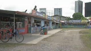 Slow fireworks sales in Bocaue, Bulacan amid restrictions