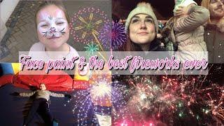 FACE PAINT & THE BEST FIREWORKS EVER | DAY IN THE LIFE