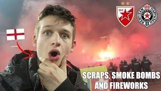SCRAPS, FLARES and FIREWORKS - Red Star Belgrade vs Partizan Vlog