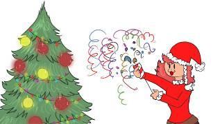 Новый год, Новый год ёлка, шарики, хлопушки!  meme