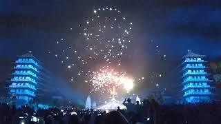 Vlog part 1.Phố quang san.. (Street of paint fireworks in taiwan. )