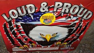 9shot 500gr LOUD & PROUD (World Class Fireworks)