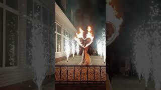 Алегрия Шоу Пиротехническое фейерверк салют огненное сердце холодные фонтаны на свадьбу юбилей