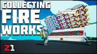 Fireworks And Research ! Collecting NEW Fireworks ! Astroneer Lunar Update | Z1 Gaming