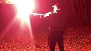 Фаер, факел, фальшфейер, сигнальный огонь телескопический Comet (Германия)