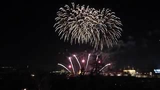 Novoroční ohňostroj Praha 2020 - Prague New Year's Eve fireworks