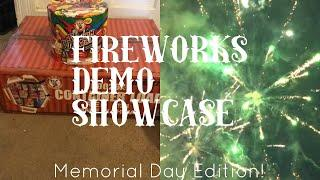 """Fireworks Demo Showcase S2E1 Memorial Day Special! Winda """"Container Load Red"""" Assortment"""