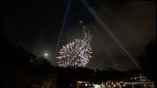 Epcot Forever Fireworks Test FULL SHOW WITH KITES