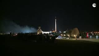 Салют в честь 75-ой годовщины освобождения Братиславы