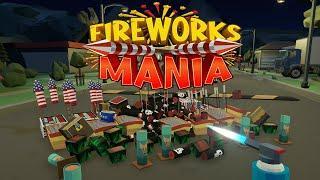 SYMULATOR puszczania FAJERWERKÓW - Fireworks Mania: An Explosive Simulator