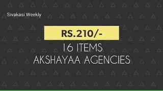 Under Rs.299/- best Sivakasi crackers gift box | Sivakasi fireworks price list