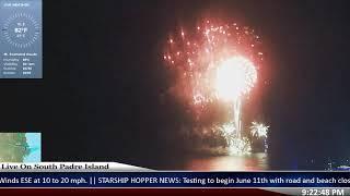 Fireworks On South Padre Island