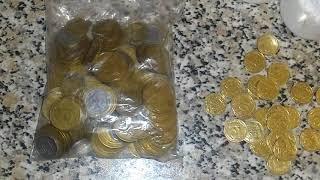 Супер посылка с редкими монетами Украины