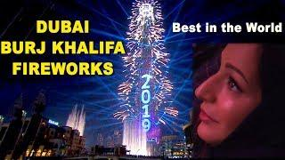 Dubai Burj Khalifa New Year 2019 Fireworks: FULL VIDEO| Best New Year Fireworks