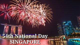 Singapore Fireworks Show 2019 |Marina Bay