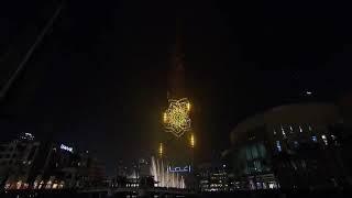 Новогодние салюты в Дубае в 2019 году
