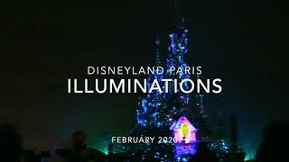 ILLUMINATIONS FIREWORKS - DISNEYLAND PARIS