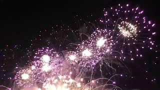 Круг Света 2018 открытие гребной канал фейерверки, салют, шоу