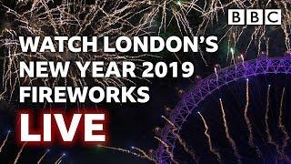 London's New Year's Eve Fireworks 2018 / 2019 LIVE