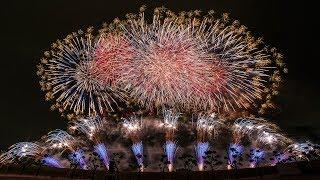 [4K]  いせさき花火大会 2018 フィナーレ ~天昇覚醒~  Isesaki Fireworks Festival 2018 (shot on Samsung NX1)