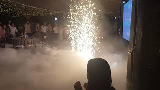 Фейерверк на свадебный танец. Загородный клуб «Каньон» 15.06.19