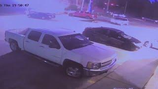 Surveillance video shows fireworks exploding in Houston truck following road rage shooting on Highwa